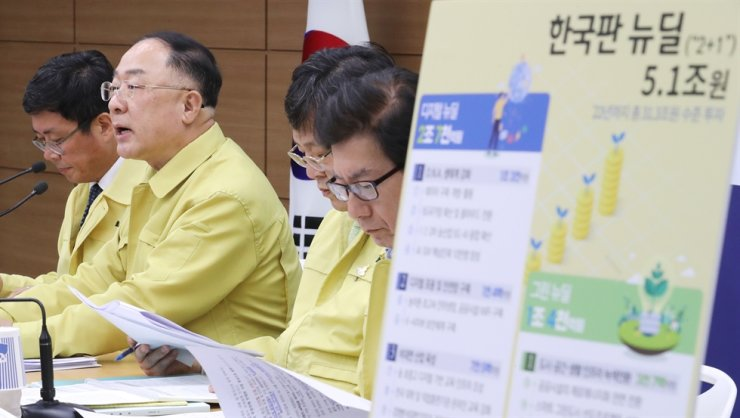 South Korea on Wednesday proposed another extra budget plan worth 35.3 trillion won (US$29 billion) that will help key industries cushion the economic blow from the coronavirus pandemic and protect jobs. Yonhap
