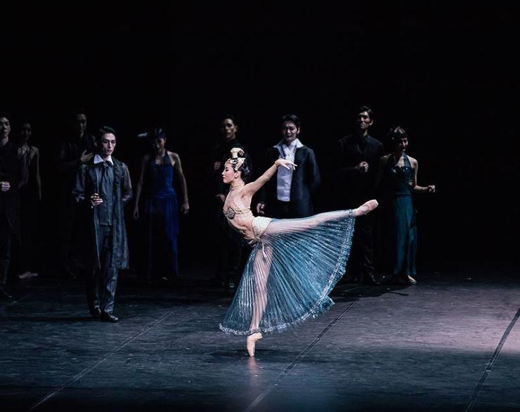 Seen is a scene from the Korea National Ballet's 'Mata Hari' in 2019 Ballet Festival Korea. Courtesy of Ballet Festival Korea