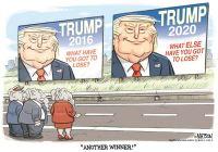 Trump 2020 campaign slogan