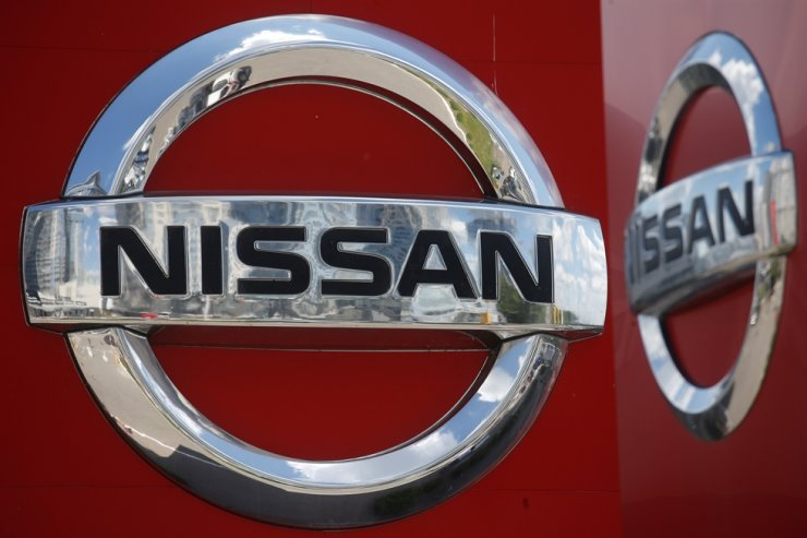 A logo of Japan car manufacturer Nissan / Reuters