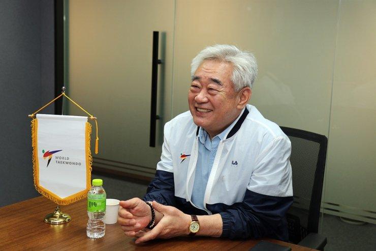 World Taekwondo President Choue Chung-won / Courtesy of World Taekwondo