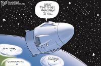 Spacex getaway