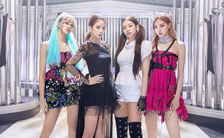 K-pop girl band BLACKPINK. Courtesy of YG Entertainment