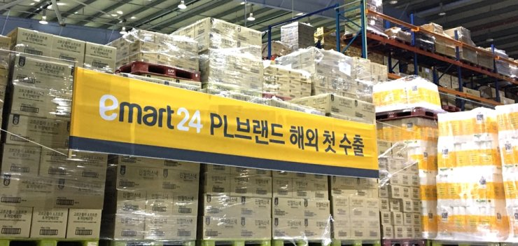 Emart24's logistics center in Gyeongsang Province. / Courtesy of Emart24