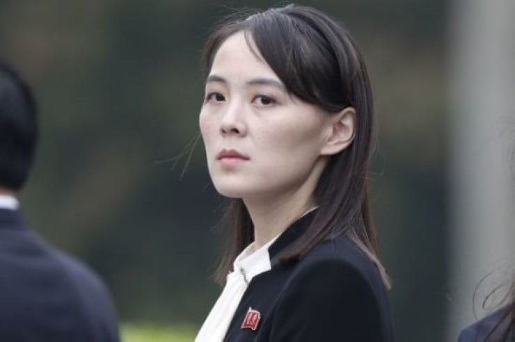 Kim Yo-jong, first vice department director of the Central Committee of the Workers' Party of Korea, issued the warning in a statement, adding that good faith and reconciliation can never go together with such hostile activities. Korea Times file