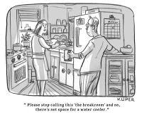 The breakroom?