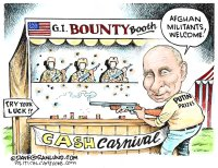 Putin bounty on GIs
