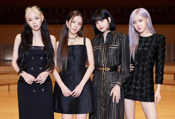 BLACKPINK poses during a global press conference held in Seoul, June 26. / Courtesy of YG Entertainment