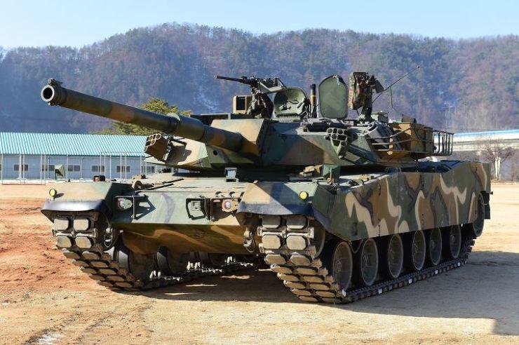 Hyundai Rotem's K1E1 battle tank / Courtesy of Hyundai Rotem