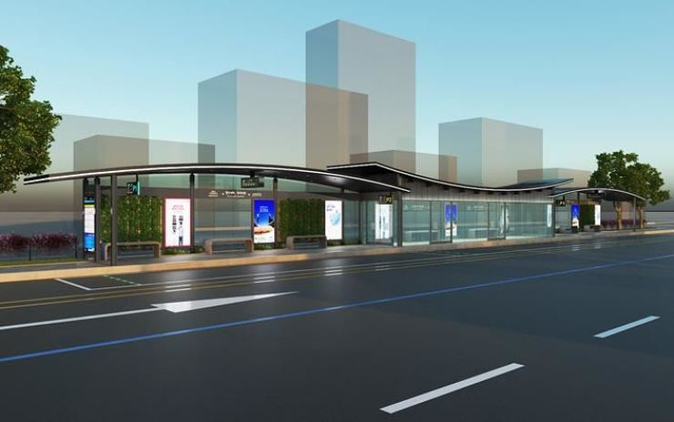 Seoul's future bus stop / Courtesy of Seoul city government