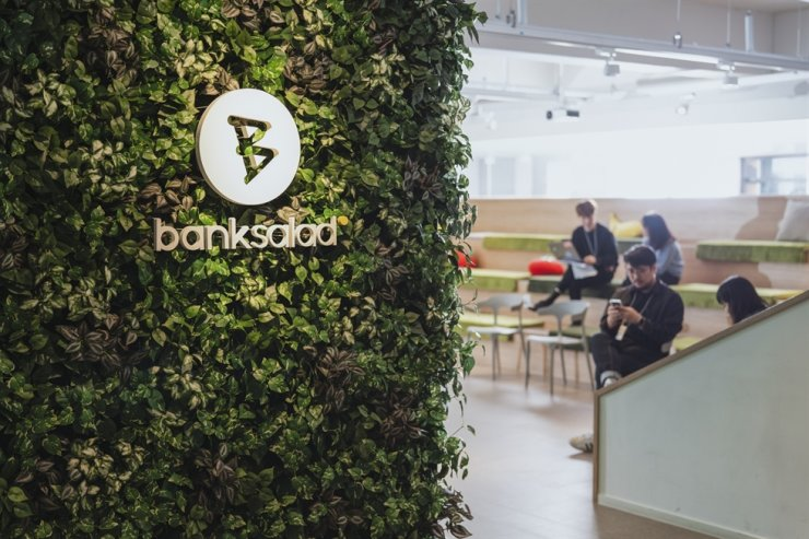 Banksalad's office on Yeouido, Seoul / Courtesy of Banksalad