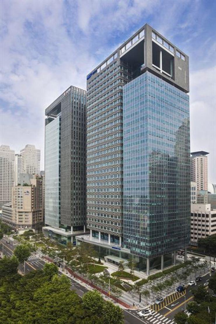 Samsung SDS's headquarters in Seoul.