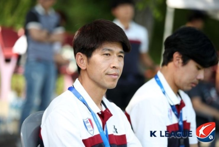 Suwon Samsung's interim head coach Joo Seung-jin / Courtesy of K League