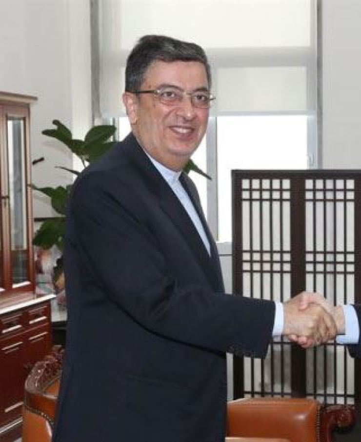 Iranian Ambassador Saeed Badamchi Shabestari. Yonhap