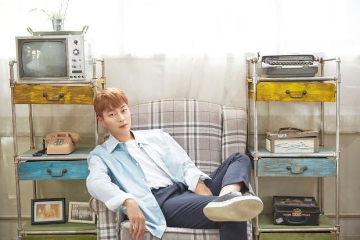 K-pop boy band Highlight's Yoon Doo-joon will release his solo album on July 27. Courtesy of Around US Entertainment