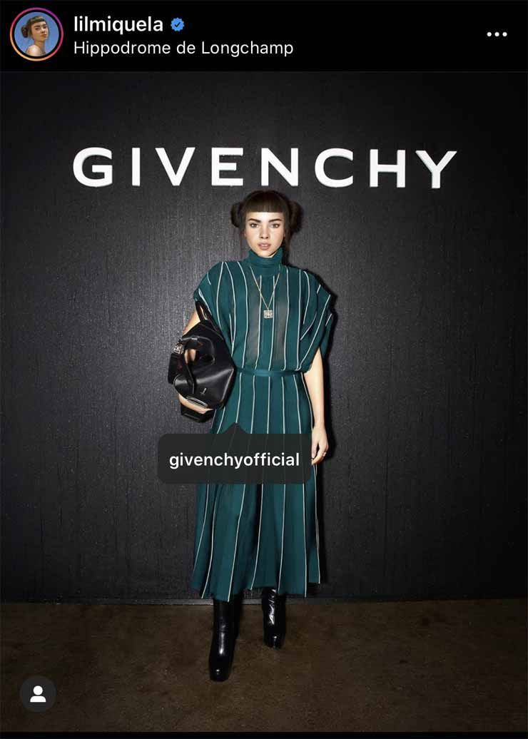 Lil Miquela / Screen captured from Lil Miquela's Instagram