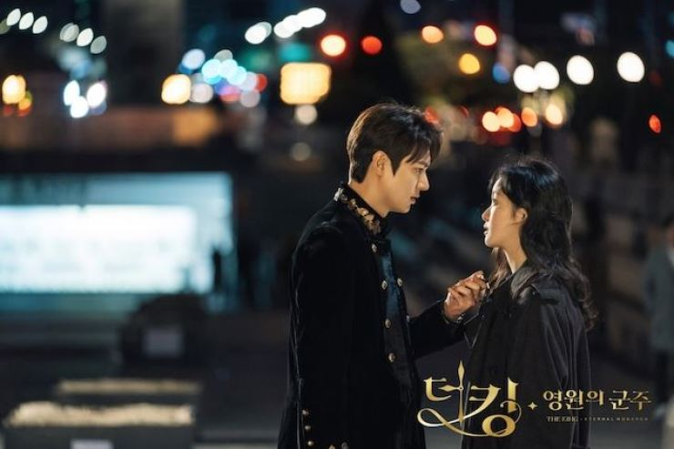 Romantic fantasy 'The King: Eternal Monarch' (2020) scored an average viewership rating of 6-8 percent in Korea. Courtesy of SBS