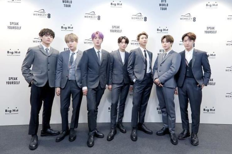 Big Hit Entertainment revealed Tuesday that two BTS members will start an MBA program at Hanyang Cyber University in September. Courtesy of Big Hit Entertainment