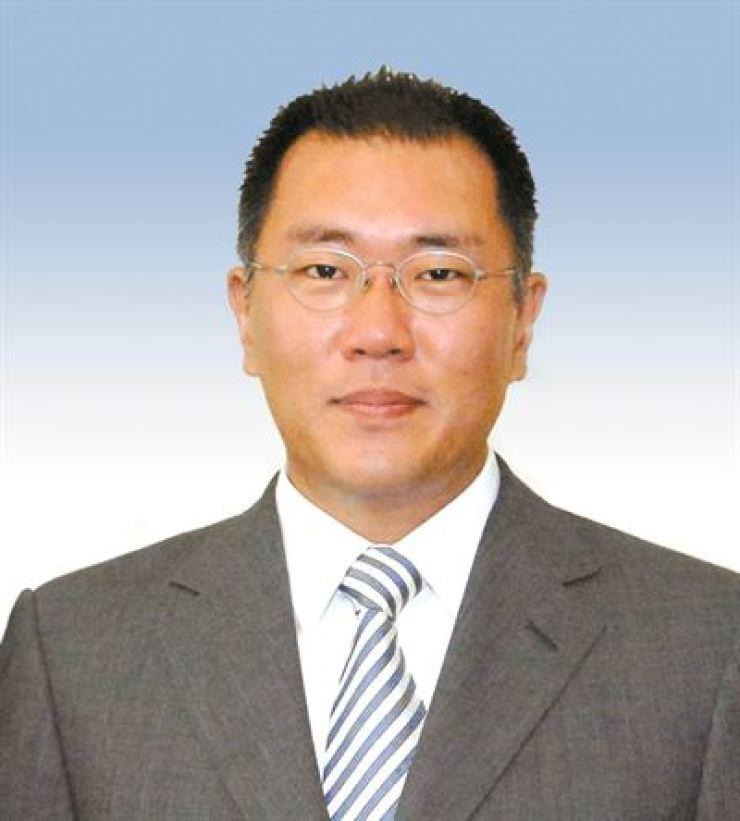 Hyundai Motor Group Executive Vice Chairman Chung Euisun