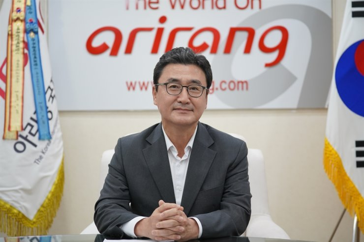 Lee Seung-youl, CEO of Arirang TV / Courtesy of Arirang TV