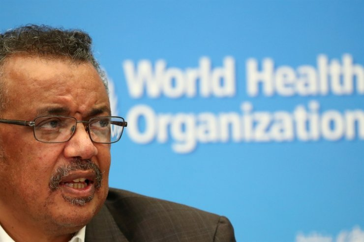 Director-General of the World Health Organization Tedros Adhanom Ghebreyesus speaks during a news conference after a meeting of the Emergency Committee on the novel coronavirus (2019-nCoV) in Geneva, Switzerland, Jan. 30, 2020. Reuters