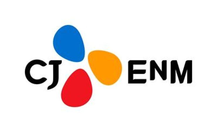 Logo for CJ ENM