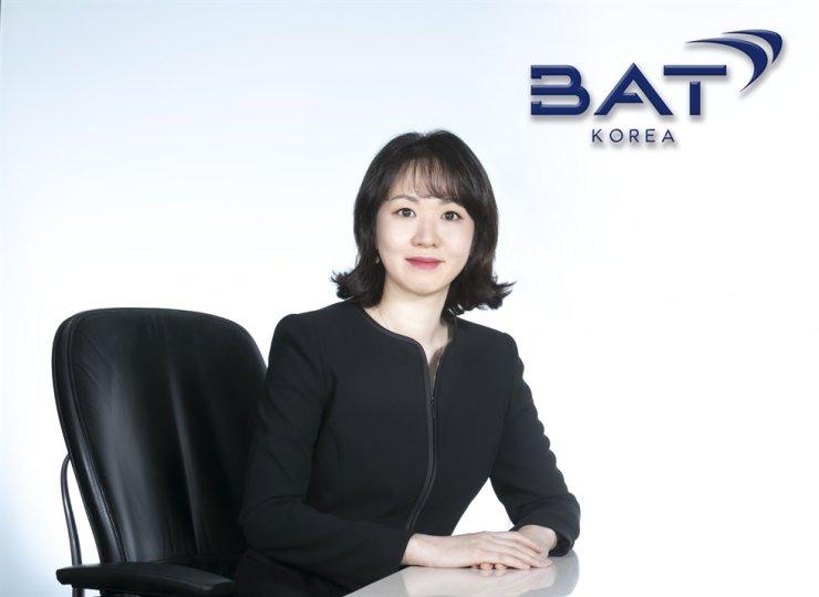 BAT Korea country manager Kim Eun-ji. / Courtesy of BAT Korea