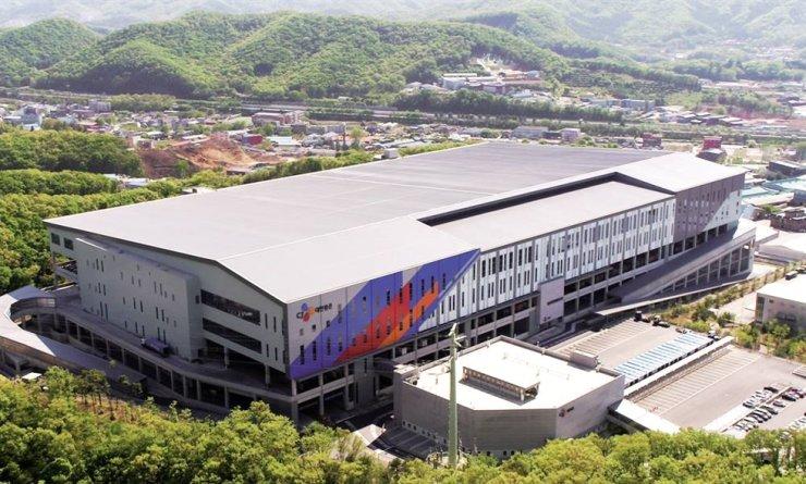 A CJ Logistics terminal in Gwangju, Gyeonggi Province / Courtesy of CJ Logistics