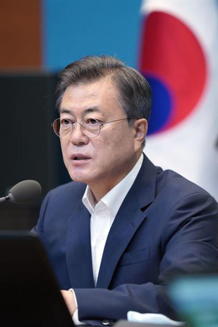 President Moon Jae-in /Yonhap