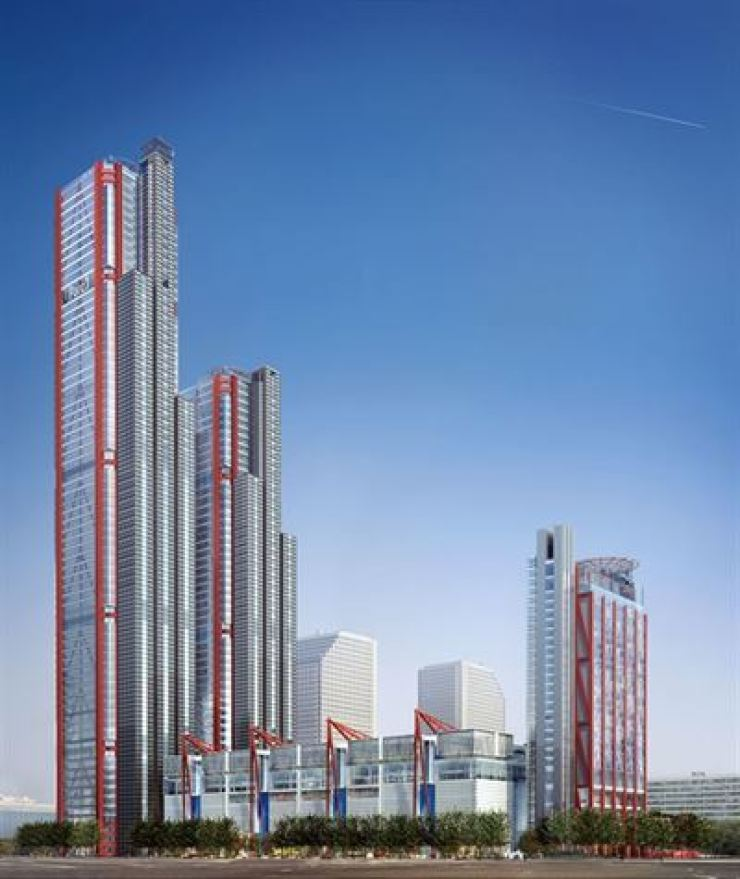 The Park One complex on Yeouido / Korea Times file