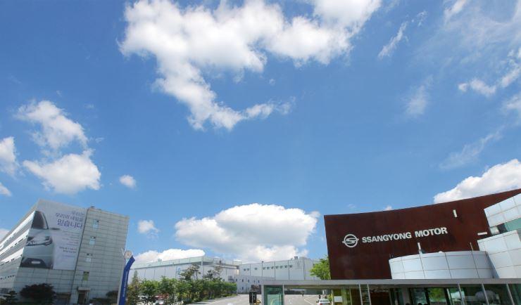 A SsangYong Motor plant in Pyeongtaek, Gyeonggi Province / Courtesy of SsangYong Motor