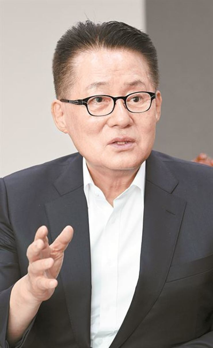 Park Jie-won, nominee for National Intelligence Service director / Korea Times file