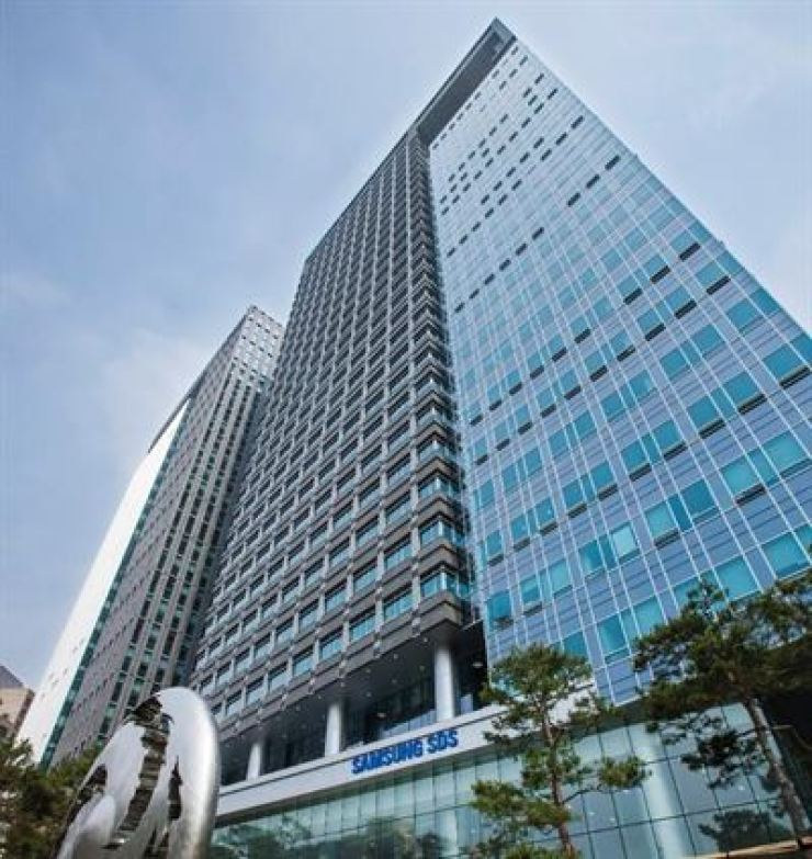 The Samsung SDS building in Seoul.