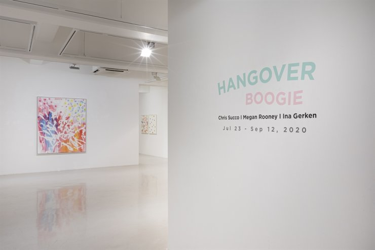 Installation view of 'Hangover Boogie' exhibition featuring works by Chris Succo at Leeahn Gallery Daegu / Courtesy of Leeahn Gallery