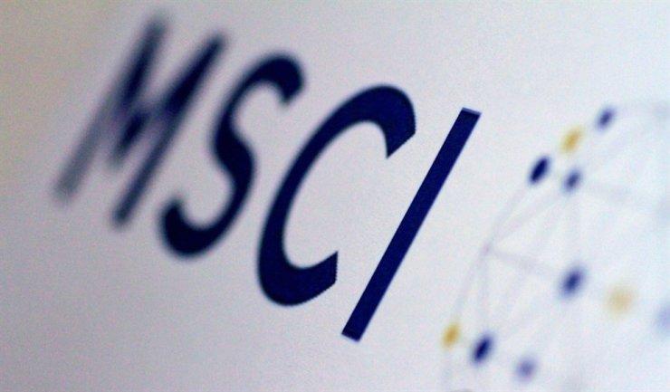 Logo of Morgan Stanley Capital International (MSCI) / Yonhap