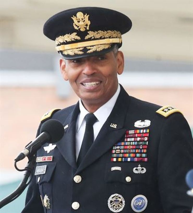 U.S. General Vincent K. Brooks, former commander of the United Nations Command, ROK-U.S. Combined Forces Command and the U.S. Forces Korea / Yonhap