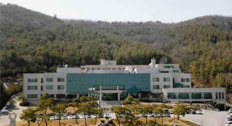 Seen is Samsung C&T's International Business Management Research Center in Yongin, Gyeonggi Province. Samsung Group on Wednesday offered its facilities for use as treatment centers for COVID-19 patients. / Courtesy of Samsung