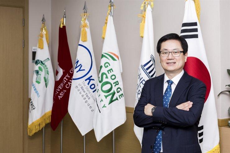 Paek Ki-hun, CEO of the Incheon Global Campus Foundation / Courtesy of the Incheon Global Campus Foundation