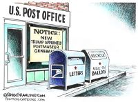 USPS and mail-in-ballots
