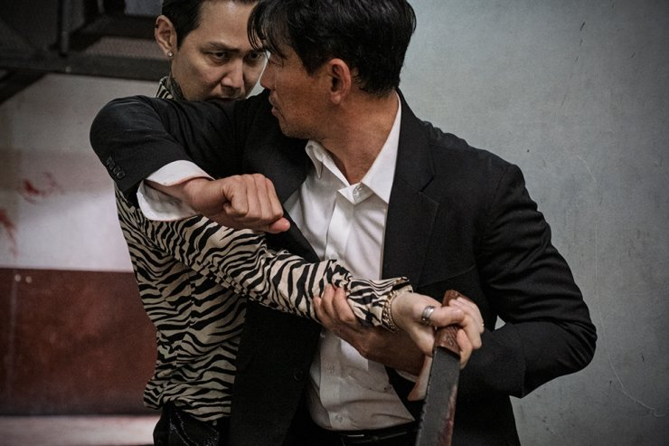 The crime-action film 'Deliver Us from Evil' topped the local box office after its release on Aug. 5. Courtesy of CJ ENM