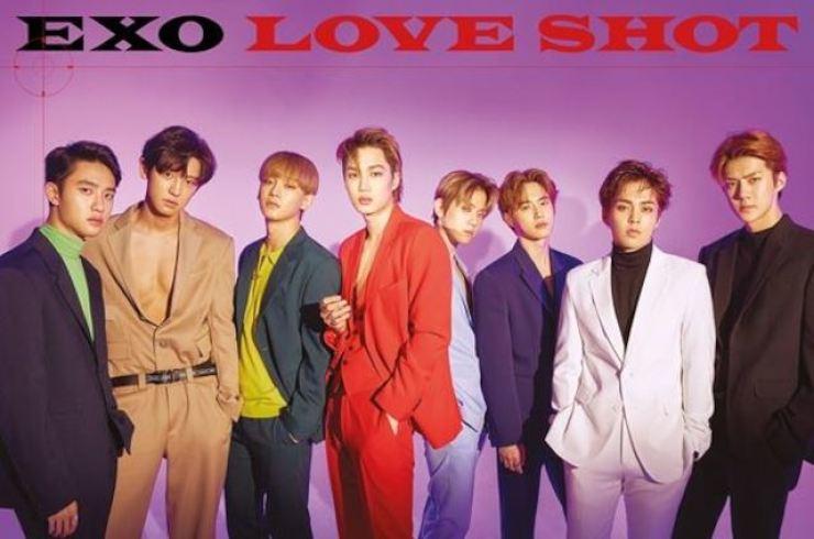 K-pop boy band EXO boasts a big fandom. Courtesy of SM Entertainment