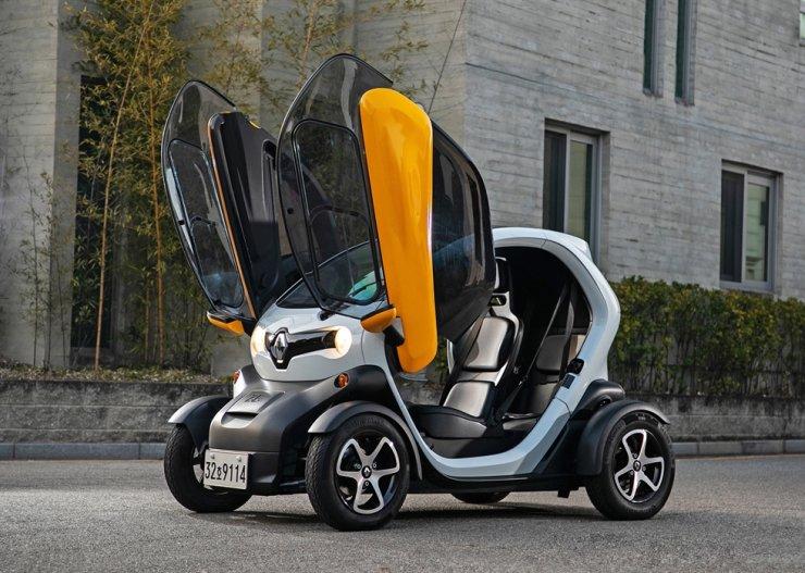TWIZY, Renault Samsung's subminiature EV Courtesy of Renault Samsung