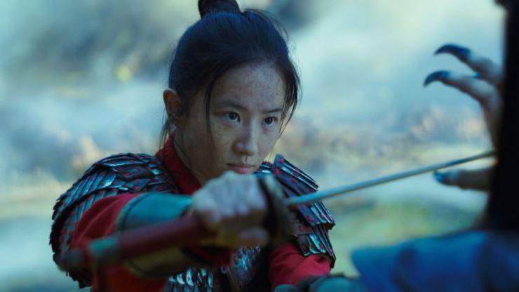 Liu Yifei in 'Mulan' / Courtesy of Walt Disney Co. Korea