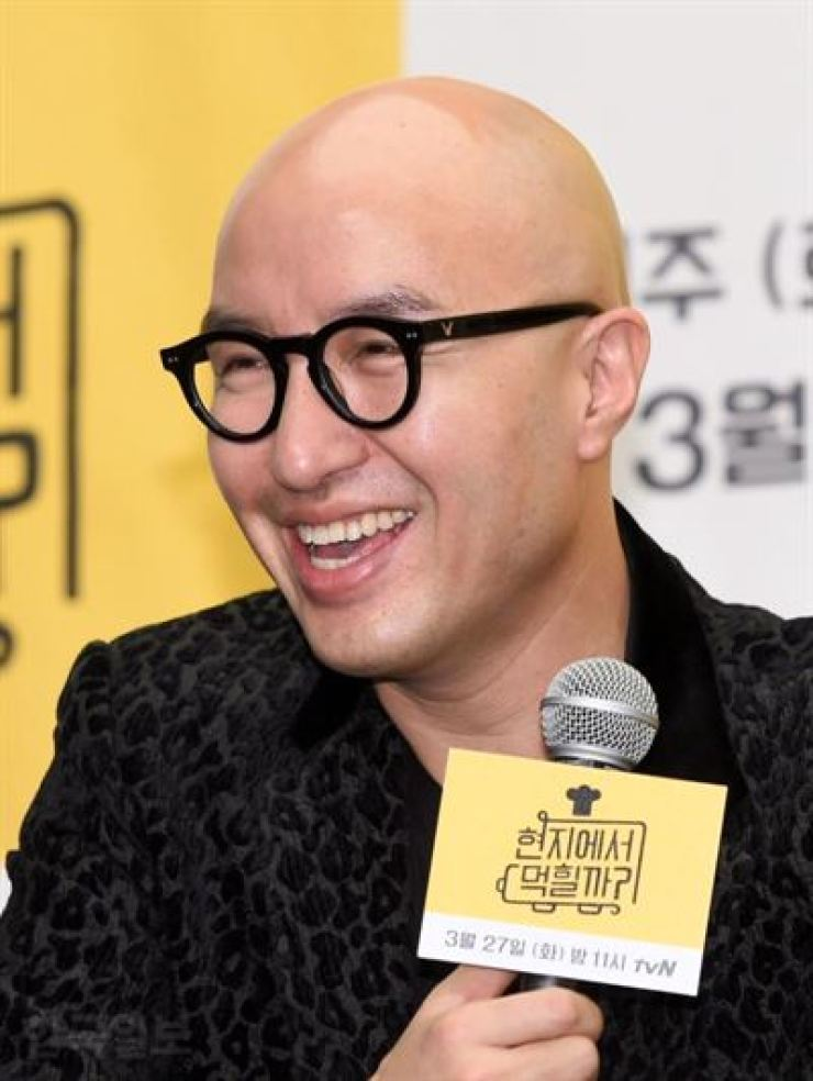 Hong Suk-chun. Korea Times file