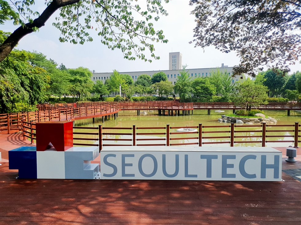 Lee Dong-hoon, president of Seoul National University of Science and Technology (Seoul Tech) speaks during an interview with The Korea Times at the university campus in Nowon, Seoul, Aug. 18. Korea Times photo by Shim Hyun-chul