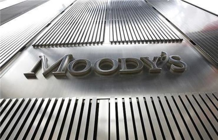 Moody's Investors Service headquarters in New York. / Yonhap