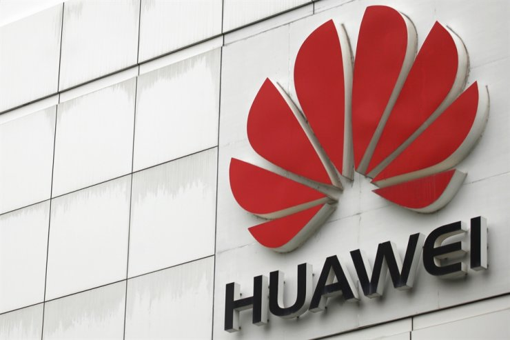 The logo of the Huawei Technologies is seen outside its headquarters in Shenzhen, Guangdong province, April 17, 2012. Reuters