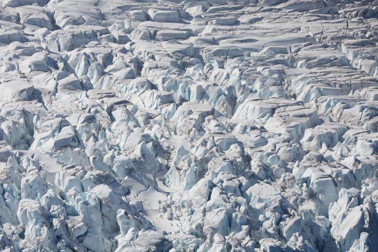 A glacier in Half Moon Bay, Antarctica in this Feb. 18, 2018 file photo. Reuters-Yonhap