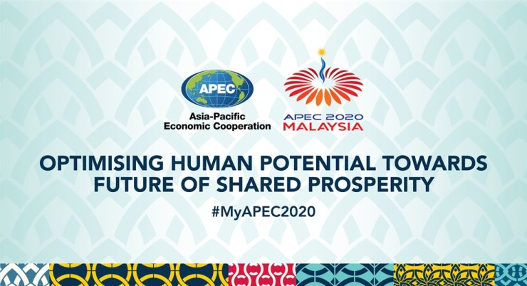 The Malaysia External Trade Development Corp., a Malaysian government-affiliated organization, is running MyAPEC2020 Exhibition - a virtual trade fair commemorating Malaysia being the 2020 APEC chair. / Captured from #MyAPEC2020 Exhibition website