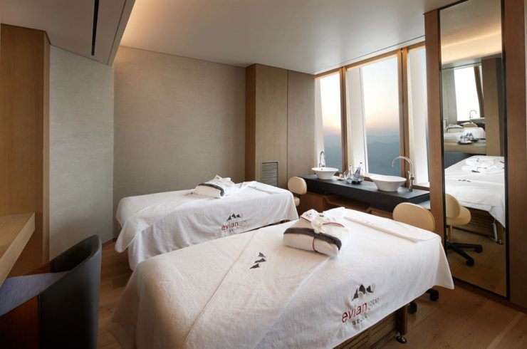 Signiel Seoul's Evian Spa / Courtesy of Lotte Hotel